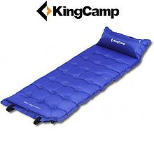 Самонадувающийся коврик KingCamp Base Camp Comfort (blue)