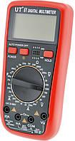 Професиональнный цифровой мультиметр тестер UT 61 Black-Red, Строительный измерительный инструмент