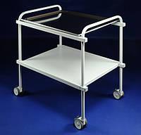 Медицинский столик для инструментов с полкой GOLEM