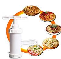 Прибор для изготовления макарон 7458 | лапшерезка ручная | машина для изготовления лапши | пресс-машинка, фото 1