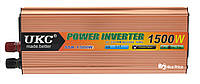 Преобразователь напряжения(инвертор) 24-220V 1500W + USB (4002) #S/O, фото 1