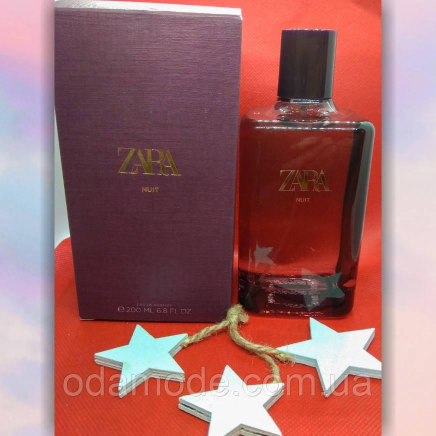 Духи ZARA Nuit  eau de perfum 200 ml Испания