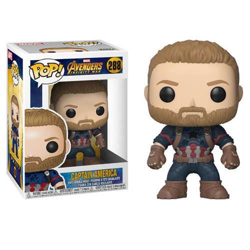 Фигурка Funko Pop Captain America #288 10 см (1410)