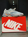 Кросівки натуральна шкіра Adidas Yeezy Boost 700 Адідас Ізі Буст (41,42,43,44,45), фото 9