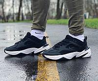 Кроссовки натуральная кожа Nike M2K Tekno Найк М2К Текно (41,42,43,44,45), фото 1
