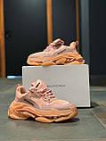 Кросівки натуральна шкіра Balenciaga Triple S Баленсіага Тріпл З (36,37,39), фото 4
