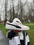 Кроссовки натуральная замша + кожа Puma Пума   ⏩ (40,44), фото 2