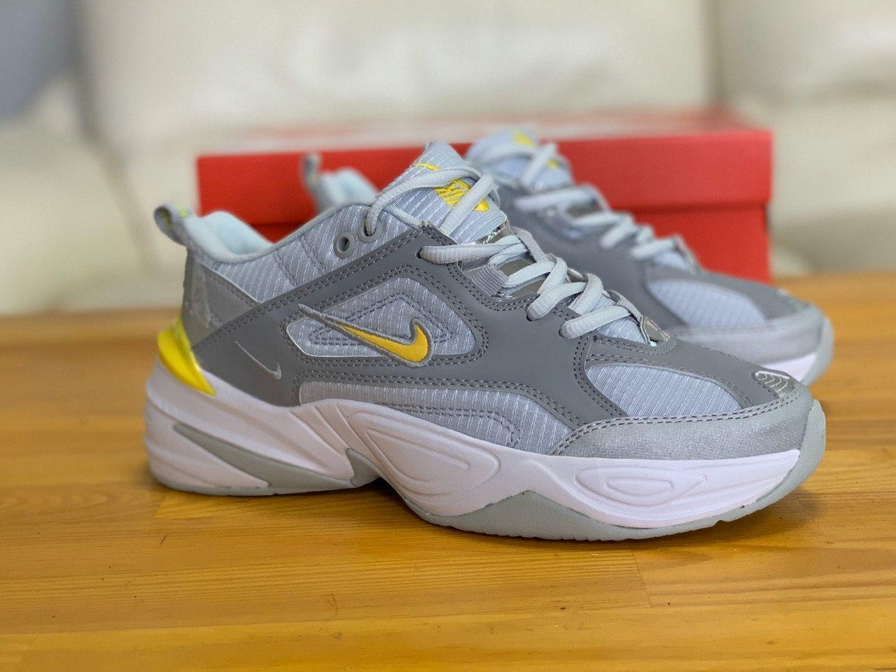 Кроссовки  натуральная кожа Nike M2K Tekno Найк М2К Текно (36,37,38,39,40)