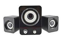 Компьютерные колонки акустика H1 BASS USB | профессиональные акустические мощные колонки | музыкальная колонка, фото 1