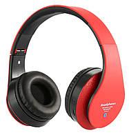 Беспроводные стерео наушники STN-12 МР3 FM Bluetooth Red Наушники и гарнитуры в Украине