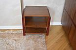 Прикроватная тумба из дерева в стиле лофт, фото 3
