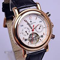 Механические часы белый циферблат с автоподзаводом, фото 1