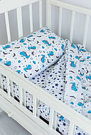 Комплект постельного белья Sweet Sleep Драконы-космонавты 110х140