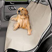 Накидка на сиденье автомобиля SUNROZ Pet Zoom Loungee для перевозки животных Серый (2316)