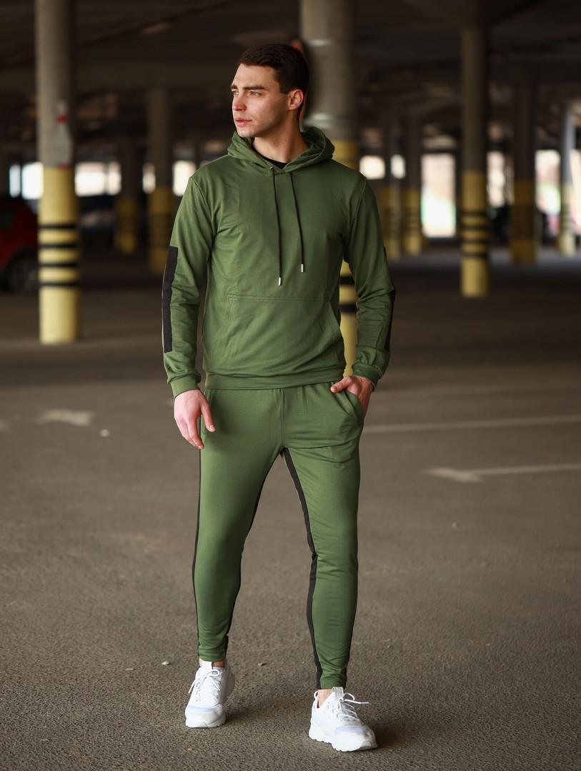 Мужской спортивный костюм Адмирал (зеленый)