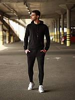 Мужской спортивный костюм Адмирал (черный), фото 1
