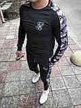 Мужской спортивный костюм Свитшот + штаны (графит), фото 3