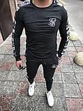Мужской спортивный костюм Свитшот + штаны (графит), фото 4