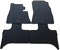 """Резиновые коврики """"Stingray Premium"""" на BMW E53 X5 99- (полный - 4 шт)"""