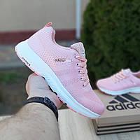 Кроссовки женские Adidas NEO розовые, фото 1
