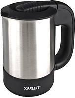 Электрочайник SCARLETT SC-022 Black,товары для кухни,тостеры,чайники,кофеварки