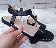 Жіночі шкіряні балетки туфлі, босоніжки, сандалі шльопанці сліпони TIFFANY, фото 1