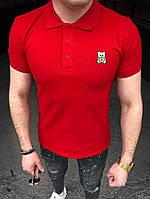 """Мужская футболка поло """"Moschino"""", фото 1"""