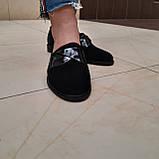 Лофери жіночі Inshoes чорні, фото 2