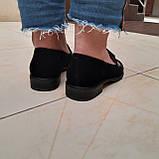 Лофери жіночі Inshoes чорні, фото 3