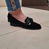 Лофери жіночі Inshoes чорні, фото 4