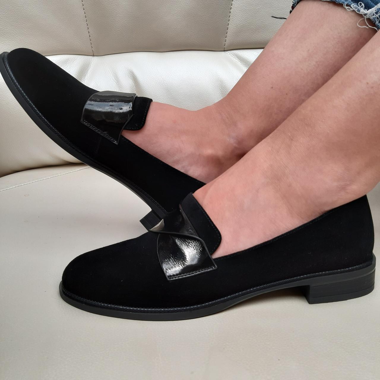 Лофери жіночі Inshoes чорні