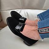 Лофери жіночі Inshoes чорні, фото 5