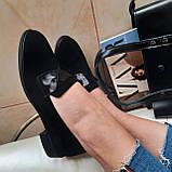 Лофери жіночі Inshoes чорні, фото 6