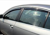 Дефлектори вікон вставні VW Passat B6/B7 2005-2011 4D Sedan
