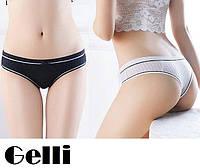 Трусы женские бикини Gelli - Женские трусики, БИКИНИ черные, белые ЖІНОЧА БІЛИЗНА