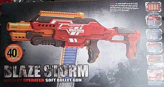 Бластер Blaze Storm красный
