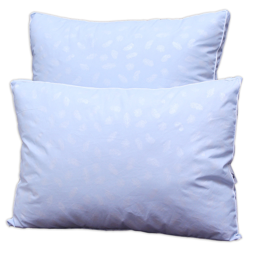Подушка Голубая с бортом 70х70