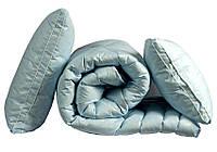 """ТМ TAG Одеяло лебяжий пух """"Голубое"""" 2-сп. + 2 подушки 70х70"""
