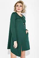 Платье женское с карманом 70PD5020 (Бутылочный) t-70PD5020_c2325