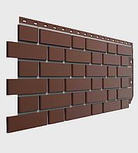 Фасадная панель Docke Flemish коричневая (кирпич)
