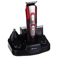 Профессиональная машинка - триммер для стрижки волос Gemei GM-592 10 в 1, фото 1