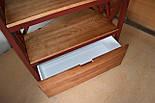 Книжный стеллаж из дерева в стиле лофт, фото 6