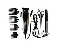 Профессиональная Машинка для стрижки волос DOMOTEС DT-4604 с насадками, фото 1