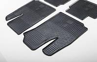"""Резиновые коврики """"Stingray Premium"""" на Fiat Doblo 01- (передние-2шт)"""