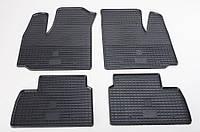 """Резиновые коврики """"Stingray Premium"""" на Fiat Doblo 01- (полный-4шт)"""