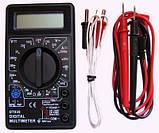 Мультиметр тестер амперметр вольтметр DT-838, фото 7