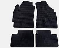 """Резиновые коврики """"Stingray Premium"""" на Chevrolet Spark 04-/Daewoo Matiz 98-/04-/Chery QQ 03- (полный-4шт)"""