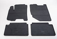 "Резиновые коврики ""Stingray Premium"" на Daewoo Gentra 13-/Chevrolet Aveo 04-/Lacetti 04-/ZAZ Vida 12- (полный-4шт)"