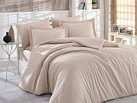 Комплект постельного белья Exclusive Sateen Diamond Stripe 160x220x2 (8698499128842), фото 1