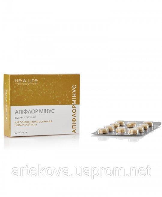 Апифлор мінус - натуральний засіб для пониження артеріального тиску